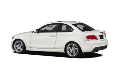 Surround 3/4 Rear - Drivers Side  2012 BMW 135