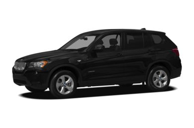 3/4 Front Glamour 2012 BMW X3