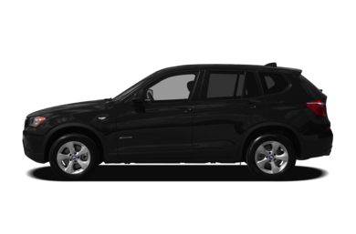 90 Degree Profile 2012 BMW X3