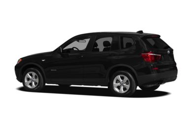 Surround 3/4 Rear - Drivers Side  2012 BMW X3