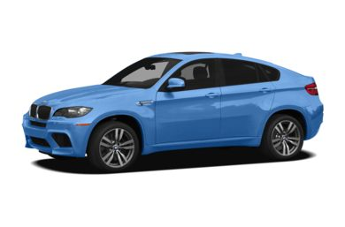 3/4 Front Glamour 2012 BMW X6 M