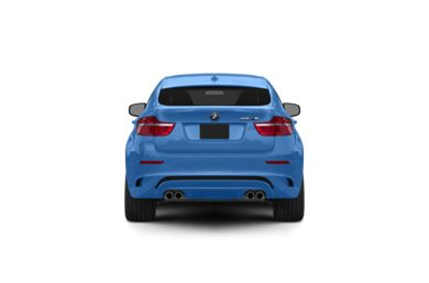 Surround Rear Profile 2012 BMW X6 M