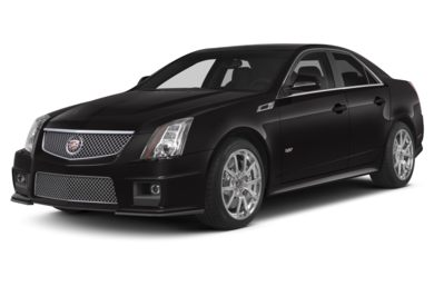 3/4 Front Glamour 2012 Cadillac CTS-V