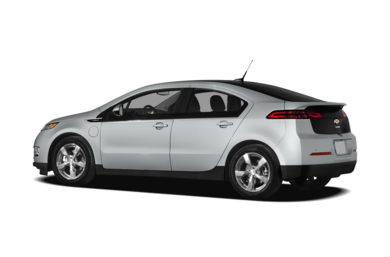 Surround 3/4 Rear - Drivers Side  2012 Chevrolet Volt