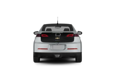 Surround Rear Profile 2012 Chevrolet Volt