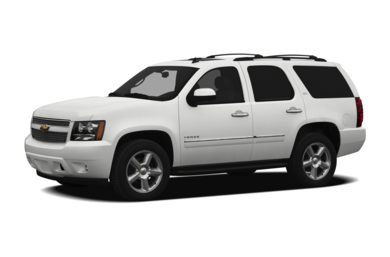 3/4 Front Glamour 2012 Chevrolet Tahoe