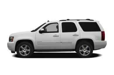90 Degree Profile 2012 Chevrolet Tahoe