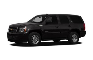 3/4 Front Glamour 2012 Chevrolet Tahoe Hybrid