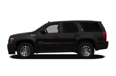 90 Degree Profile 2012 Chevrolet Tahoe Hybrid
