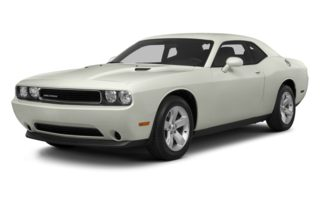 3/4 Front Glamour 2012 Dodge Challenger
