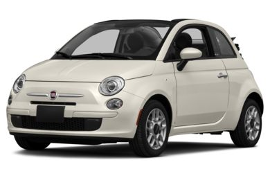 3/4 Front Glamour 2016 FIAT 500c