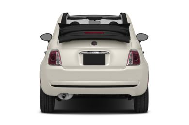 Rear Profile  2014 FIAT 500c