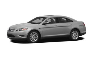 3/4 Front Glamour 2012 Ford Taurus