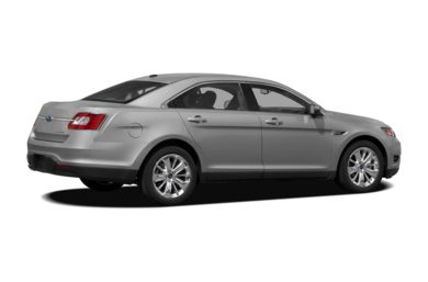 3/4 Rear Glamour  2012 Ford Taurus