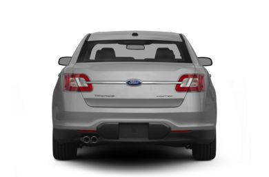 Rear Profile  2012 Ford Taurus