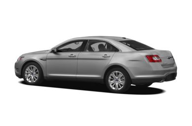Surround 3/4 Rear - Drivers Side  2012 Ford Taurus