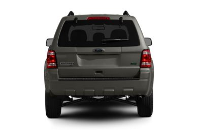 Rear Profile  2012 Ford Escape