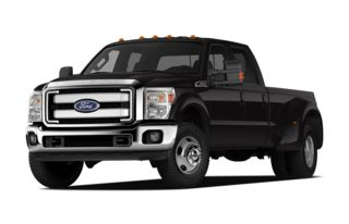 3/4 Front Glamour 2012 Ford F-450