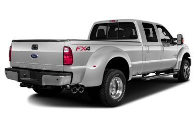 3/4 Rear Glamour  2013 Ford F-450