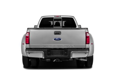 Rear Profile  2013 Ford F-450