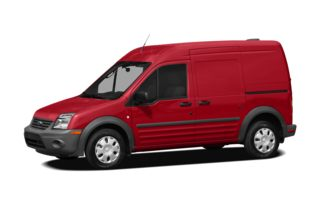 3/4 Front Glamour 2012 Ford Transit Connect
