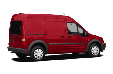 3/4 Rear Glamour  2012 Ford Transit Connect