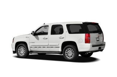 Surround 3/4 Rear - Drivers Side  2012 GMC Yukon Hybrid