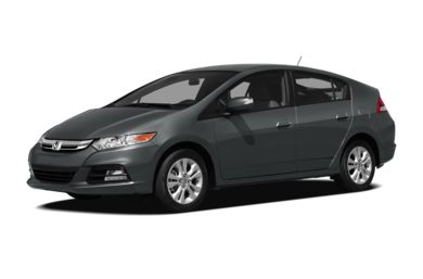 3/4 Front Glamour 2012 Honda Insight