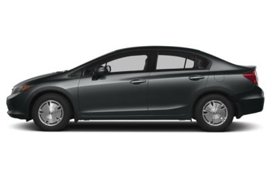 90 Degree Profile 2012 Honda Civic Hybrid