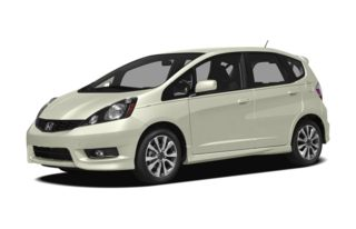 3/4 Front Glamour 2012 Honda Fit