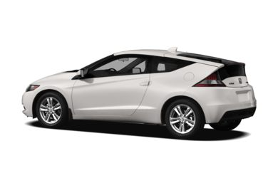 Surround 3/4 Rear - Drivers Side  2012 Honda CR-Z