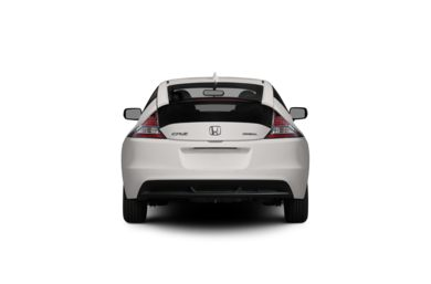 Surround Rear Profile 2012 Honda CR-Z