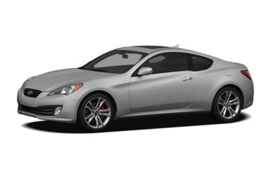3/4 Front Glamour 2012 Hyundai Genesis Coupe