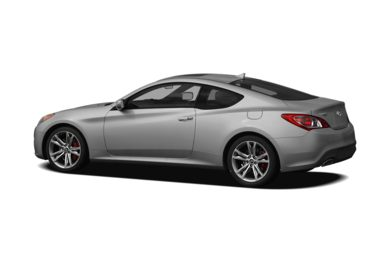 Surround 3/4 Rear - Drivers Side  2012 Hyundai Genesis Coupe