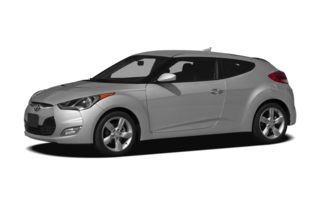 3/4 Front Glamour 2012 Hyundai Veloster