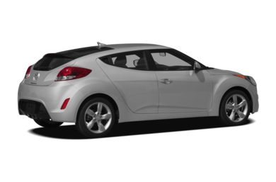 3/4 Rear Glamour  2012 Hyundai Veloster