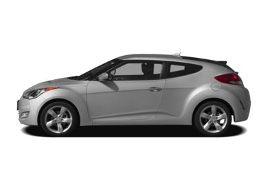 90 Degree Profile 2012 Hyundai Veloster