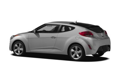 Surround 3/4 Rear - Drivers Side  2012 Hyundai Veloster