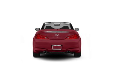 Surround Rear Profile 2012 Infiniti G37 Convertible