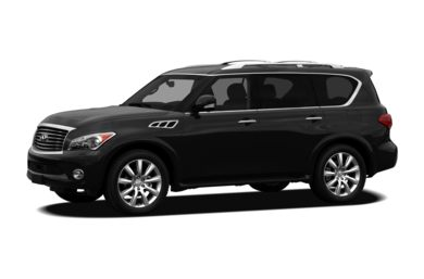 3/4 Front Glamour 2012 Infiniti QX56
