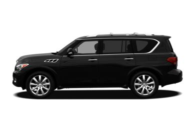 90 Degree Profile 2012 Infiniti QX56