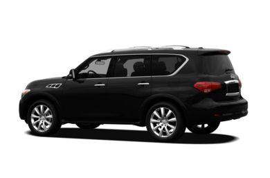 Surround 3/4 Rear - Drivers Side  2012 Infiniti QX56
