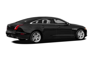 3/4 Rear Glamour  2012 Jaguar XJ