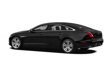 Surround 3/4 Rear - Drivers Side  2012 Jaguar XJ