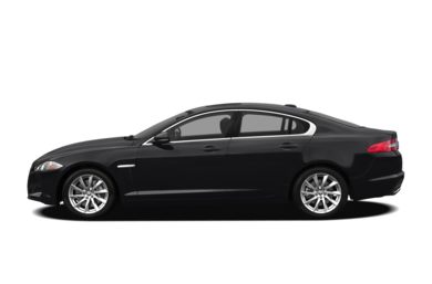 90 Degree Profile 2012 Jaguar XF