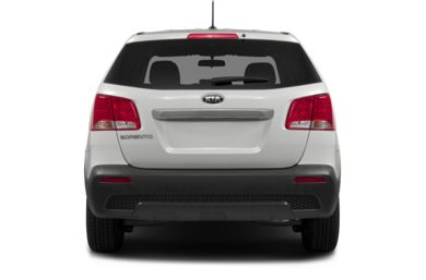 Rear Profile  2012 Kia Sorento