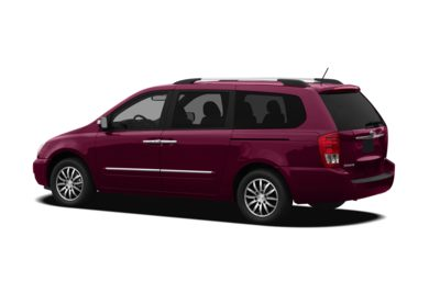 Surround 3/4 Rear - Drivers Side  2012 Kia Sedona