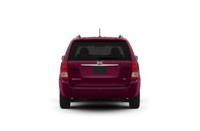 Surround Rear Profile 2012 Kia Sedona
