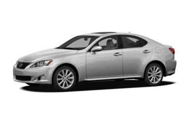 3/4 Front Glamour 2012 Lexus IS 250