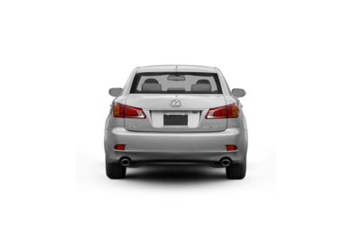 Surround Rear Profile 2012 Lexus IS 250